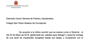 Respuesta Rectoria CSPNC a CGP