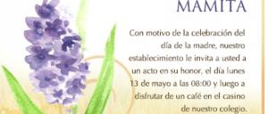 Invitación día de la mamá