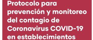 PROCEDIMIENTOS DESARROLLADOS POR EL COLEGIO FRENTE AL CORONAVIRUS