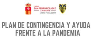 PLAN DE CONTINGENCIA Y AYUDA  FRENTE A LA PANDEMIA
