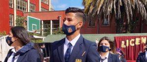 Felicitaciones en sus redes sociales del club deportes Concepción a nuestro alumno Joaquin Roa