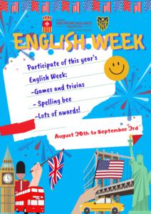 La English Week (Semana del Inglés)
