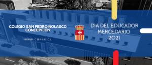 """""""SALUDO AL EDUCADOR MERCEDARIO 2021"""""""